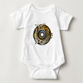 Antique Camera Lens Shutter Baby Bodysuit