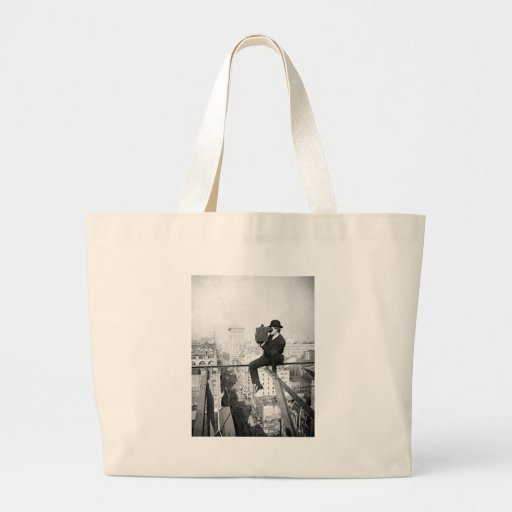 antique camera on a city highrise vintage photo bags