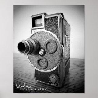 Antique Camera Poster