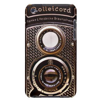 Antique camera rolleicord art deco barely there iPod cover