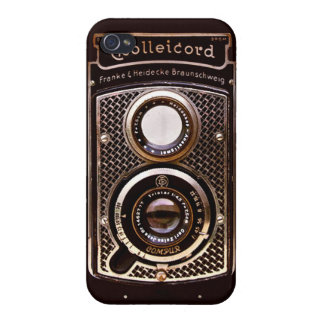 Antique camera rolleicord art deco covers for iPhone 4