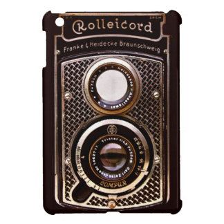 Antique camera rolleicord art deco iPad mini cover