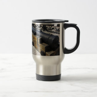 Antique Cannon Coffee Mugs