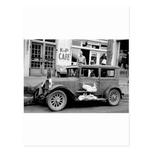Antique Car, 1930s Postcards