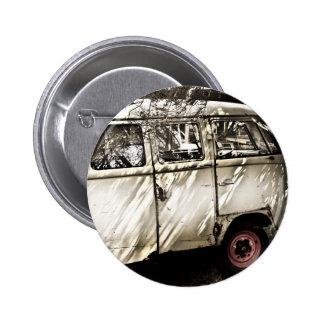 antique car 2 inch round button
