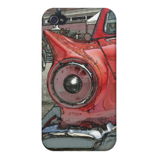 Antique car as art iPhone 4 case