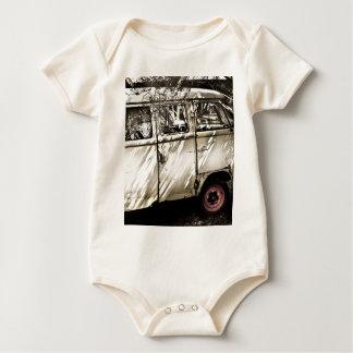 antique car baby bodysuit