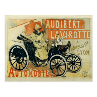 Antique Car French Postcard