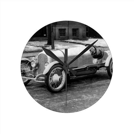 Antique CAR Photo Clock