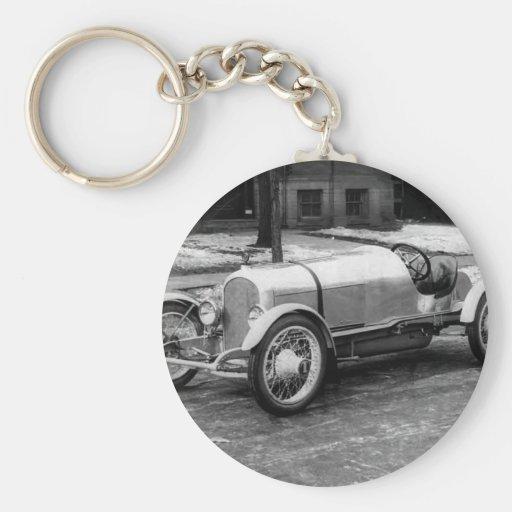 Antique CAR Photo Keychain