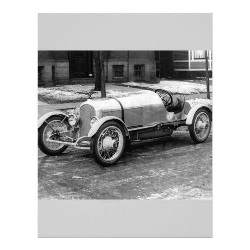 Antique CAR Photo Custom Letterhead