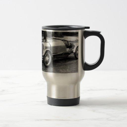 Antique CAR Photo Coffee Mugs