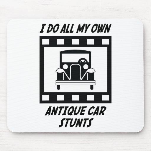 Antique Car Stunts Mouse Mat