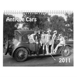 Antique Cars- 2011 Wall Calendars