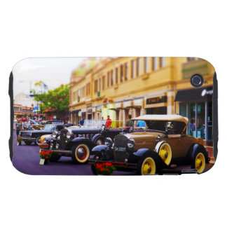 Antique Cars on Display at Country Club Plaza KC Tough iPhone 3 Cover
