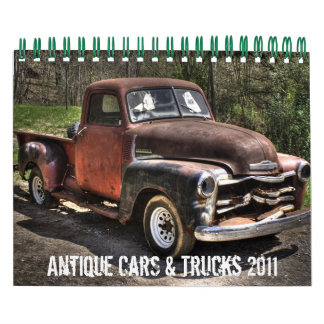 Antique Cars &Trucks Calendar