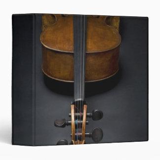 Antique Cello 3 Ring Binder