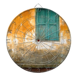 Antique Chinese embankment OF Hoi on in Vietnam Dartboard