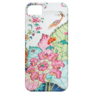 Antique chinoiserie china porcelain bird pattern iPhone 5 cases