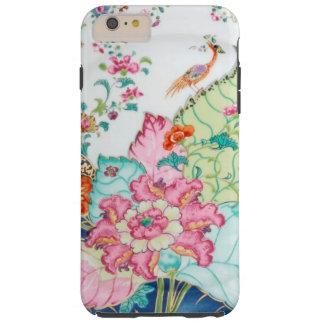 Antique chinoiserie china porcelain bird pattern tough iPhone 6 plus case