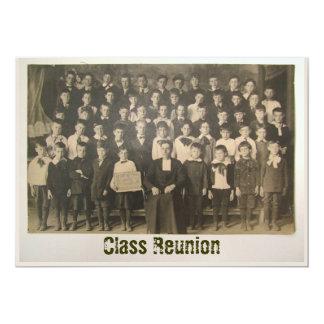 Antique Class Photo ~ Invitation