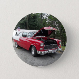 antique classic car show pic raw 012 2 inch round button