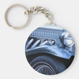 Antique Classic Vintage Car Chrome and Lights Keychain