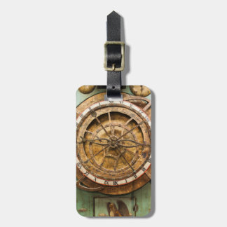 Antique clock face, Germany Bag Tag