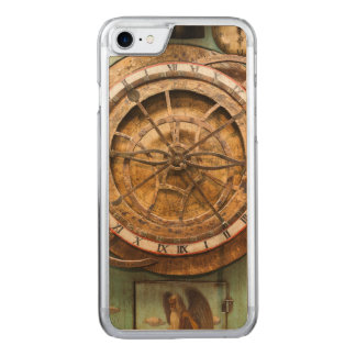 Antique clock face, Germany Carved iPhone 7 Case