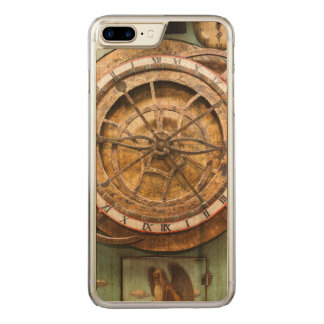 Antique clock face, Germany Carved iPhone 8 Plus/7 Plus Case
