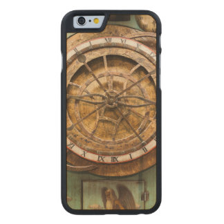 Antique clock face, Germany Carved Maple iPhone 6 Case
