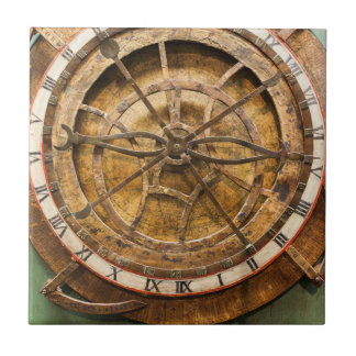 Antique clock face, Germany Ceramic Tile