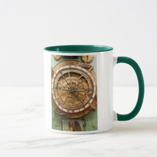 Antique clock face, Germany Mug