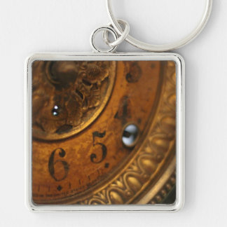 Antique Clock Keychain