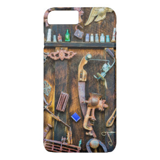 Antique collection on wall iPhone 7 plus case