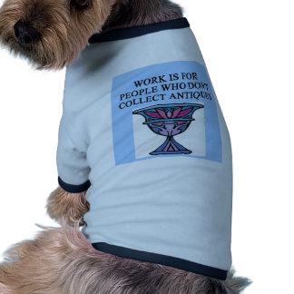 ANTIQUE collector Dog Clothes