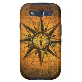 Antique Compass Rose Samsung Galaxy SIII Case