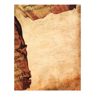 Antique Composition Letterhead