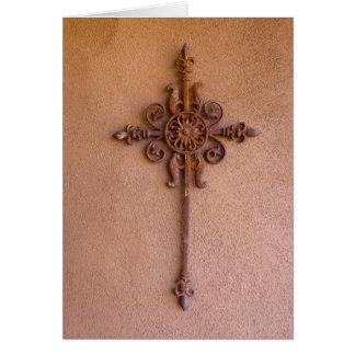 Antique Cross Card