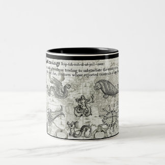 Antique Cryptozoology Mug