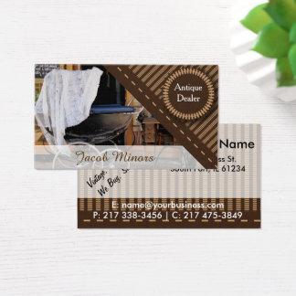 Antique Dealer / Shop Business Card