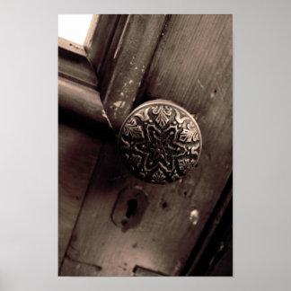Antique Door Knob Poster