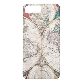 Antique Double-Hemisphere World Map Case-Mate iPhone Case