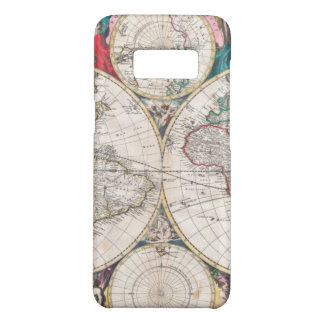 Antique Double-Hemisphere World Map Case-Mate Samsung Galaxy S8 Case