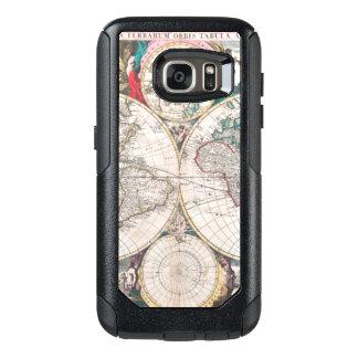 Antique Double-Hemisphere World Map OtterBox Samsung Galaxy S7 Case