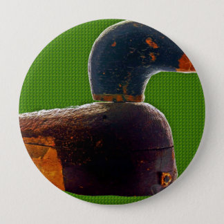 Antique duck decoy button