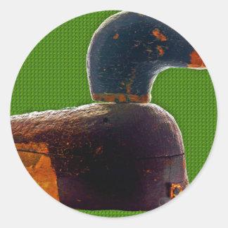 Antique duck decoy sticker