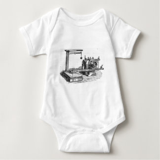 Antique Engineering Tool Vintage Ephemera Baby Bodysuit