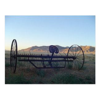 Antique Farm Equip Postcard