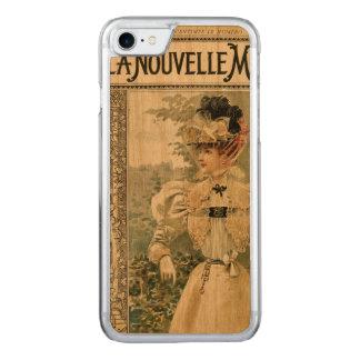 Antique Fashion Nouve Cover on Wood